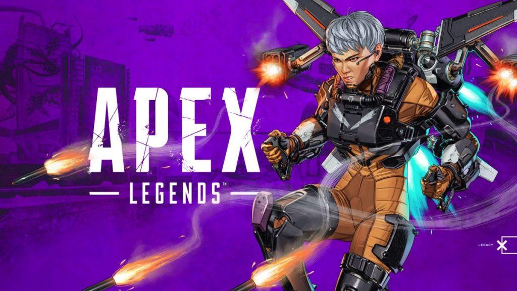 Valkyrie de Apex Legends.