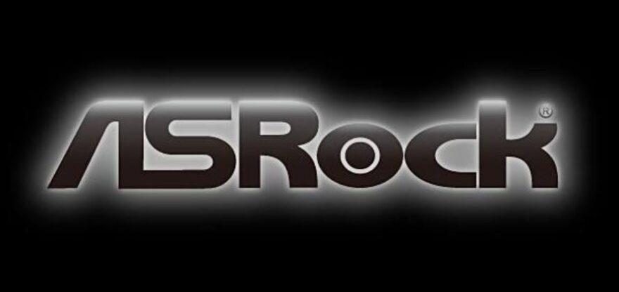 Logo de ASRock.