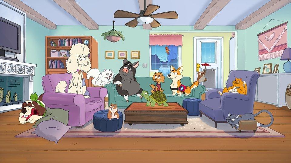 Personajes de HouseBroken.