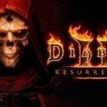 Portada de Diablo II;: Resurrected.