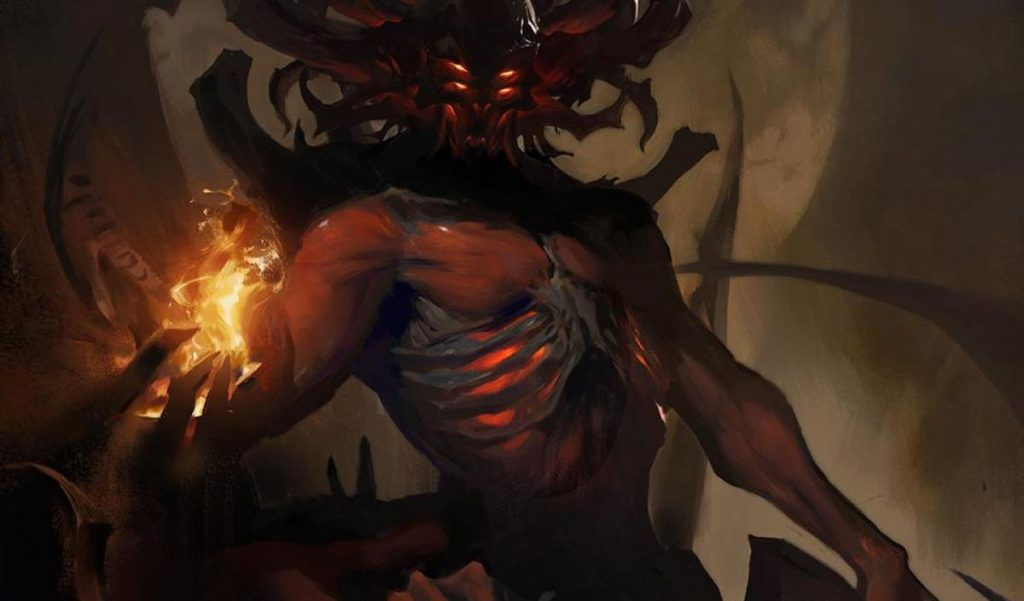 Arte de Diablo Inmortal.