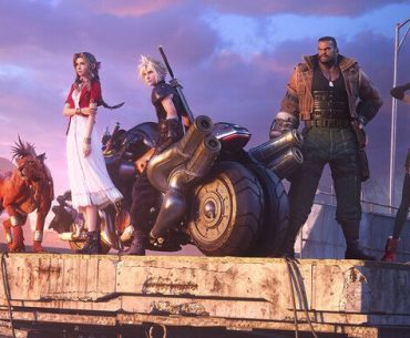 Arte de Final Fantasy VII: Remake.