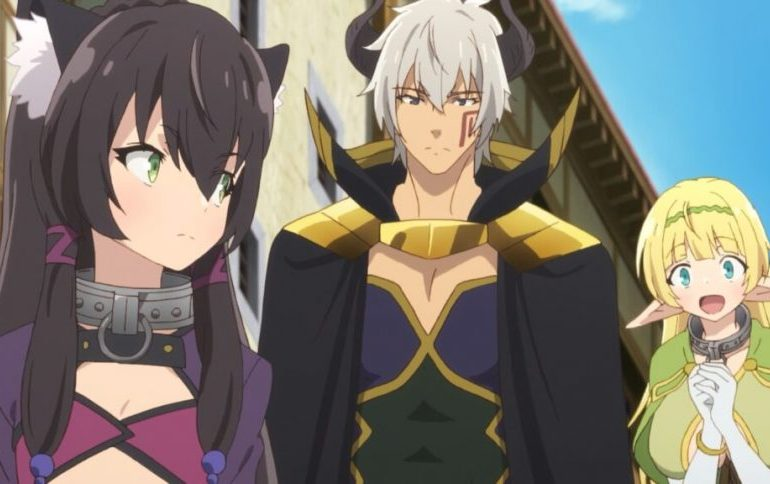 Captura de pantalla de Isekai Maou to Shoukan Shoujo no Dorei Majutsu Ω