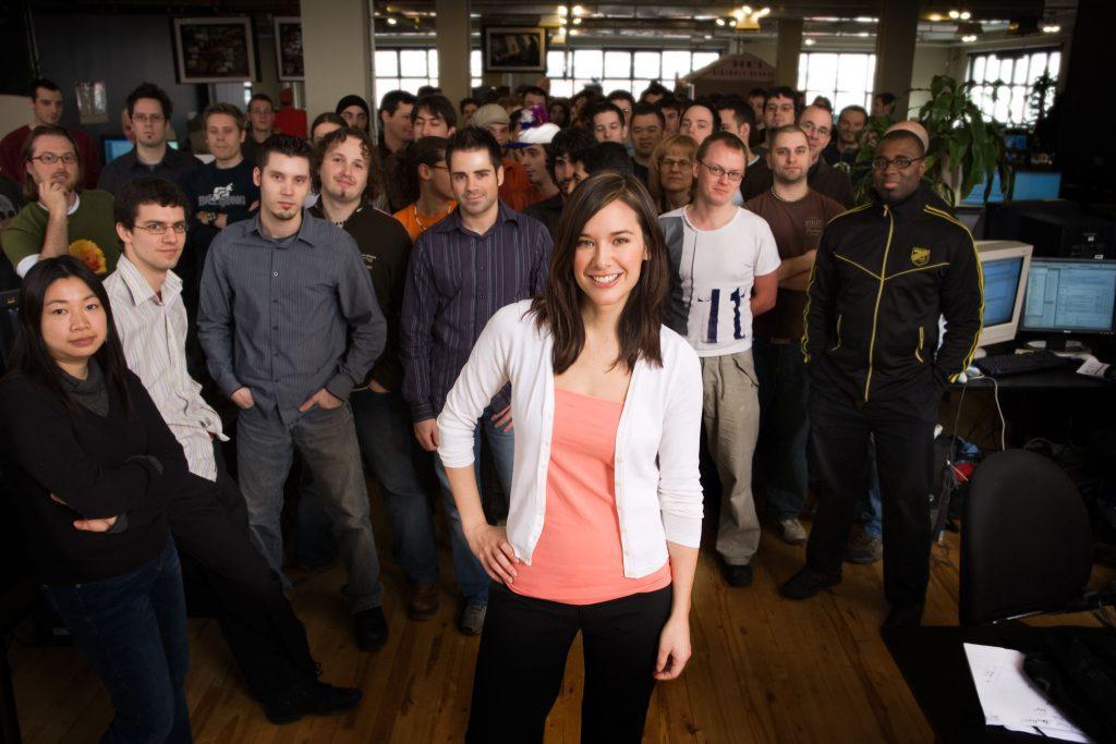 Jade Raymond en Ubisoft.