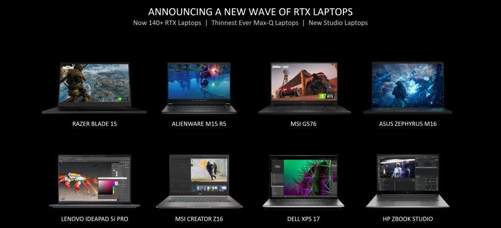 Laptops con la 3050.