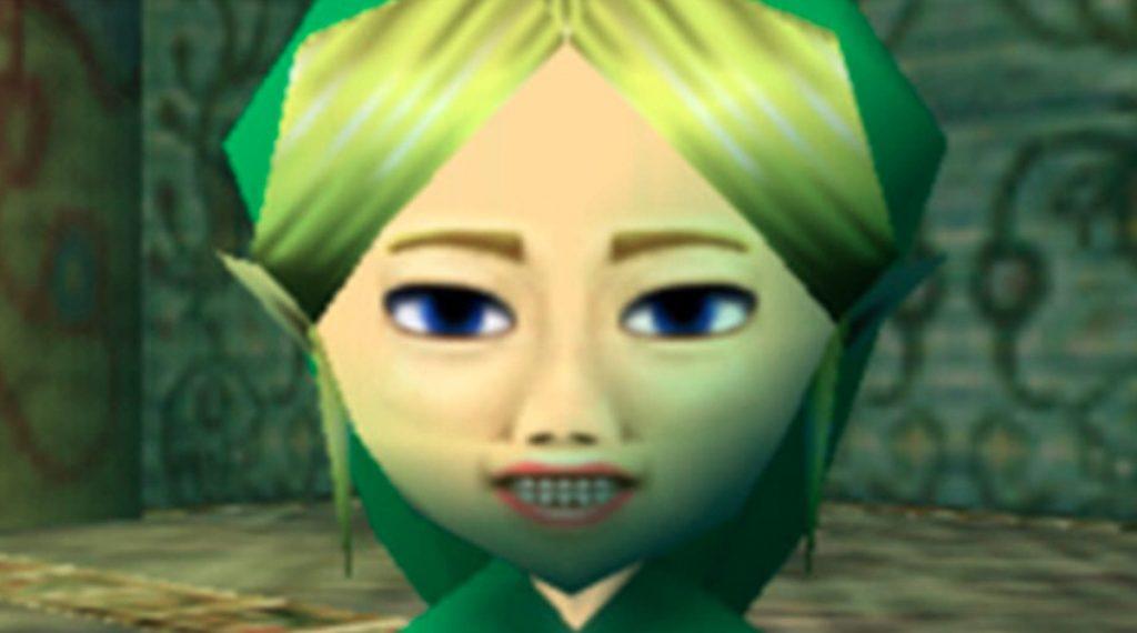 Copia de Link en Majora's Mask.