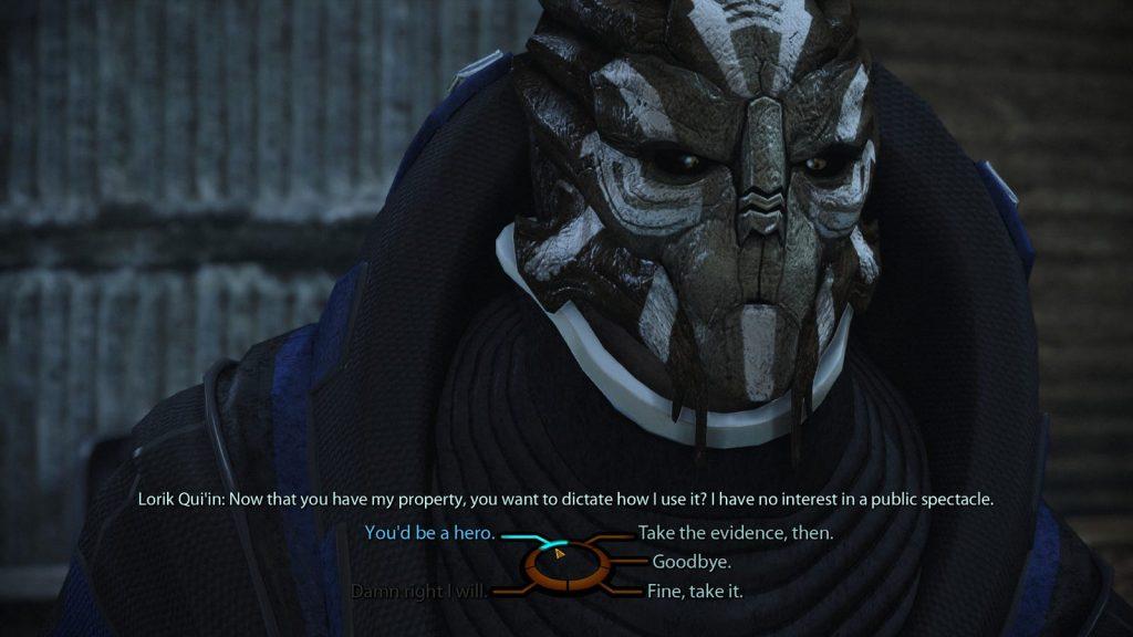 Bug en Mass Effect: Legendary Edition.