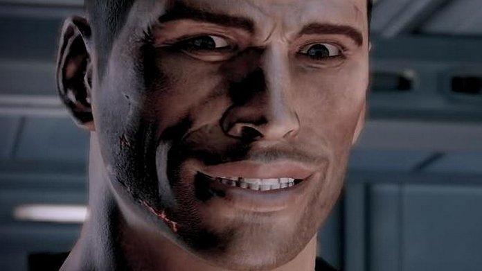 Sheppard en Mass Effect: Legendary Edition.