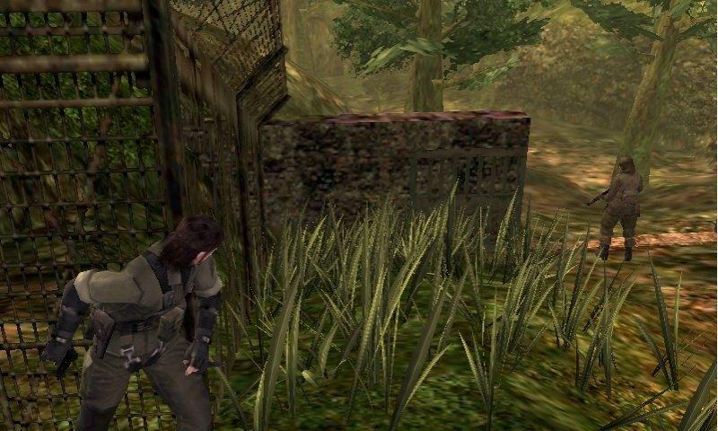 Metal Gear: Snake Eater 3D.