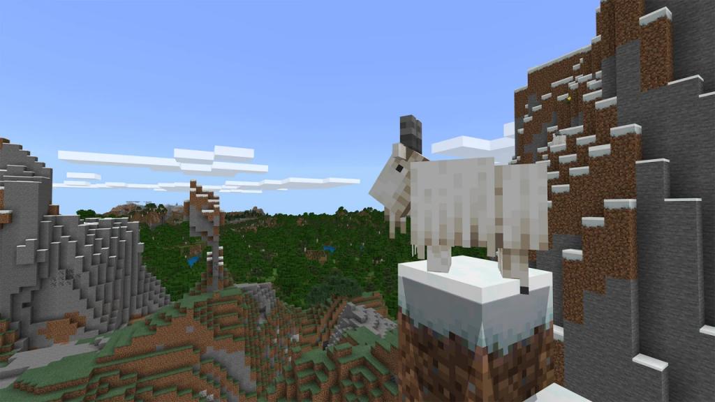 Cabra en Minecraft.