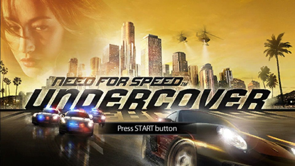 Need for Speed Undercover.