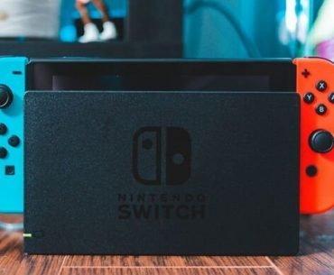Consola Nintendo Switch.