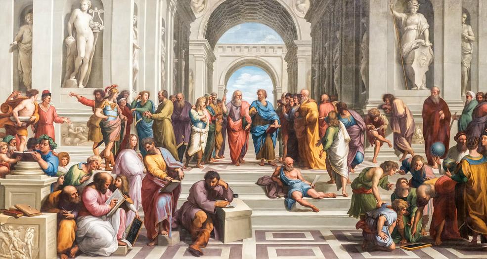 Pintura de Rafael Sanzio.