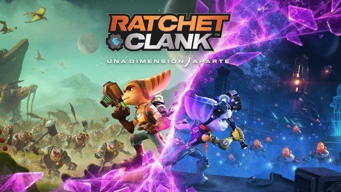 Arte de Ratchet & Clank.