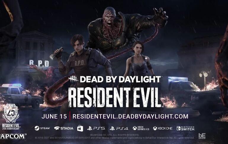 Resident Evil en Dead By Daylight.
