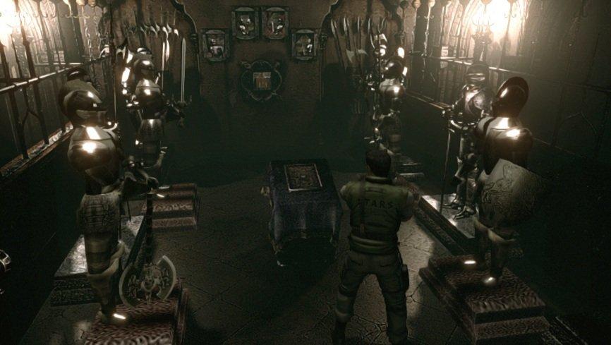 Resident Evil Remake.