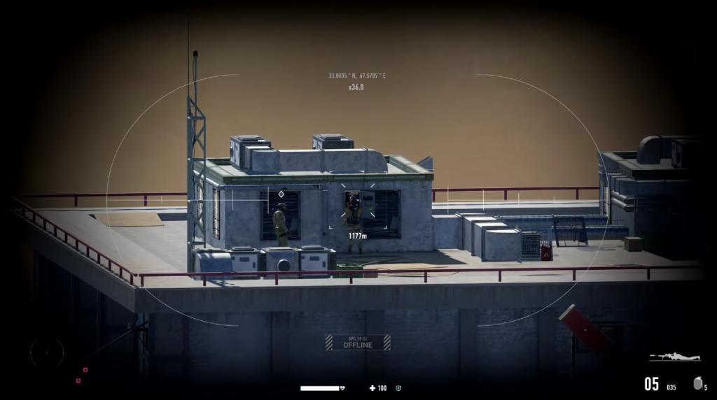 Shooting en Sniper Ghost Warrior Contracts 2.