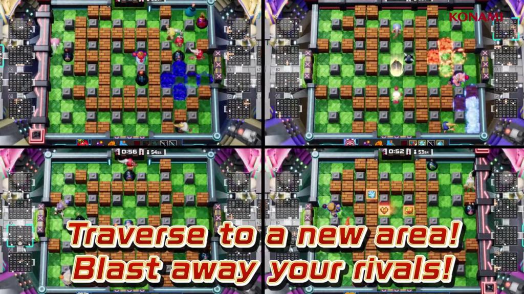 Jugabilidad de Super Bomberman Online R.