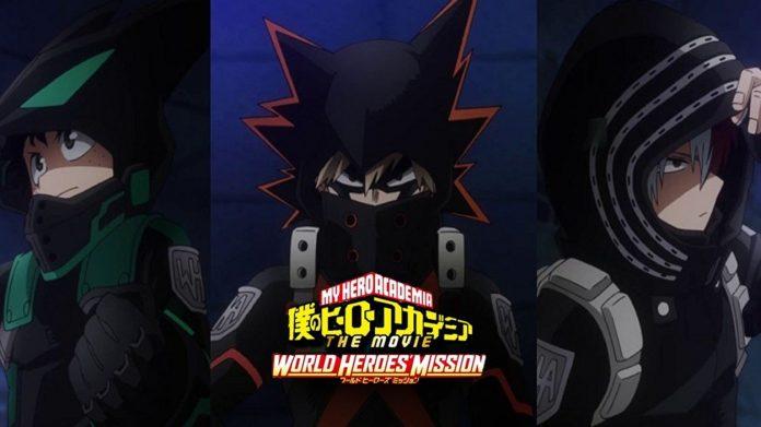 Imagen tomada del teaser de 'Boku no Hero Academia the Movie World Heroes' Mission'.