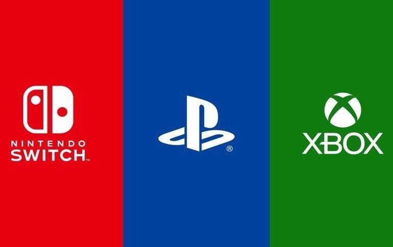 Logos de Nintendo, Xbox y Sony.