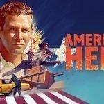 Portada de Ameriacn Hero.
