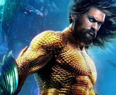 Jason Momoa en su papel de Aquaman.
