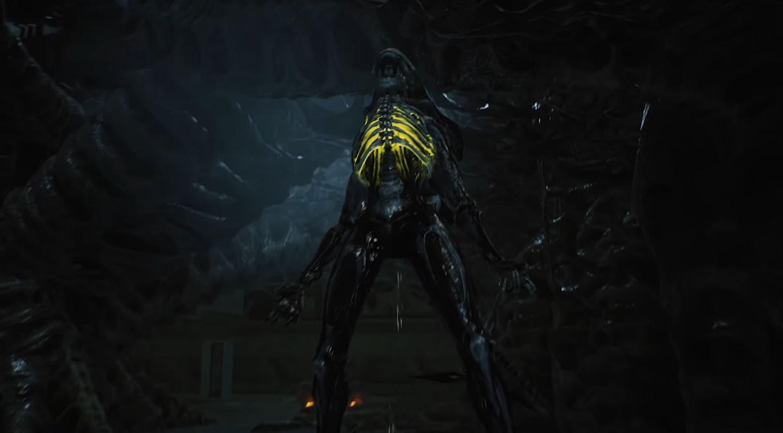 Xenomorfo de Arte de Aliens: Fireteam Elite..