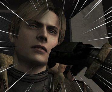 Leon en RE4.