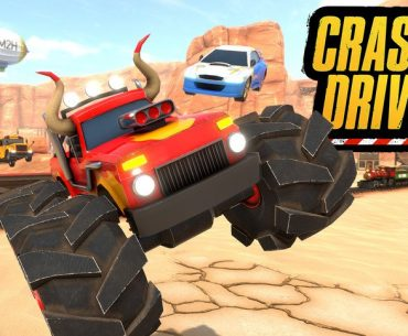 Arte de Crash Drive 3.