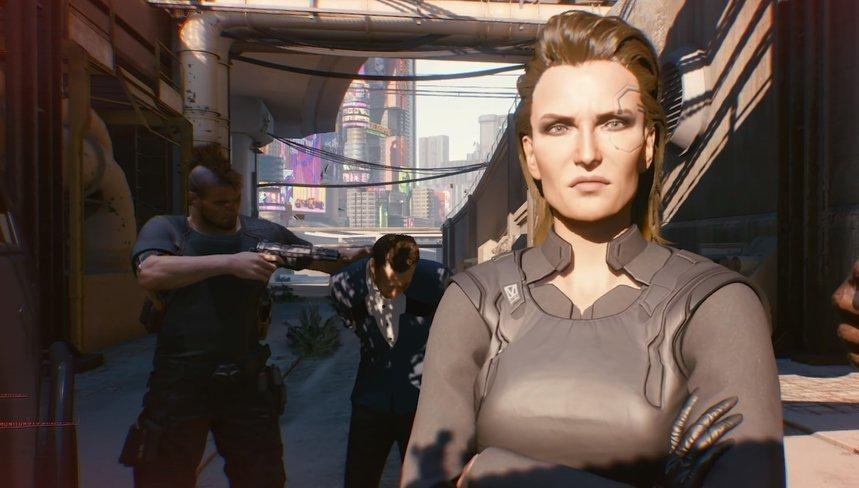 Personajes de Cyberpunk 2077.