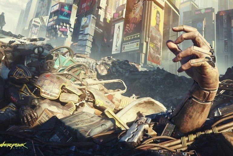 Arte de Cyberpunk 2077.