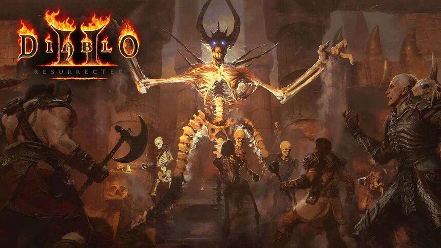 Arte de Diablo 2: Resurrected.