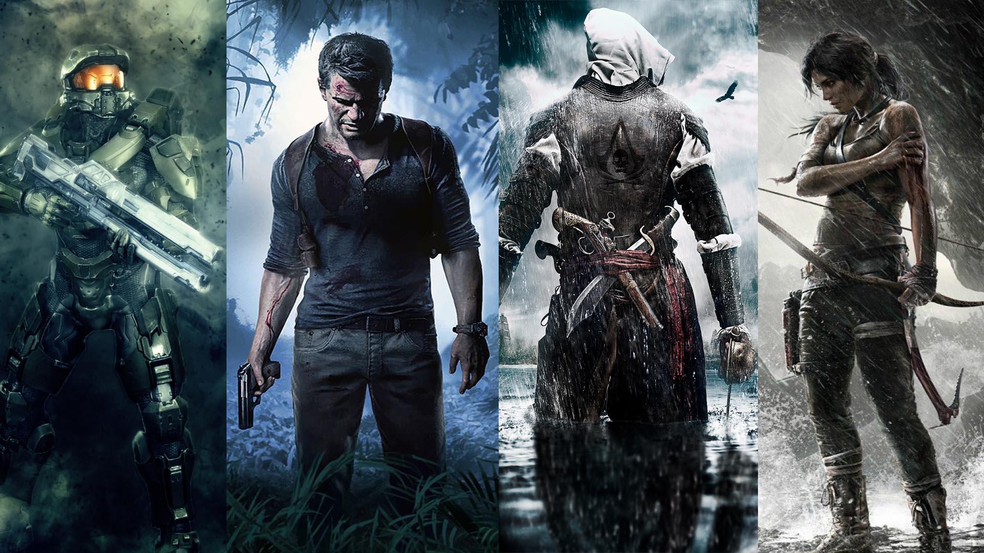 Personajes de videojuegos.