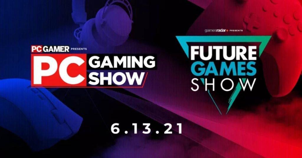 Logo de la PC Gaming Show y Future Games Show.