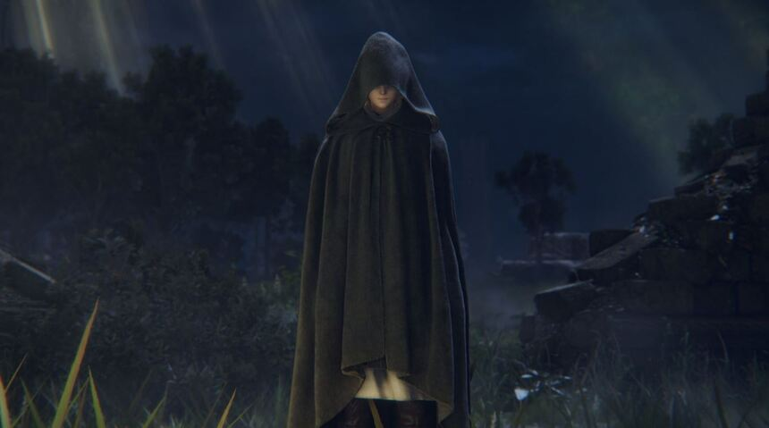 Personaje de Elden Ring.