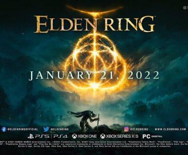 Portada de Elden Ring.