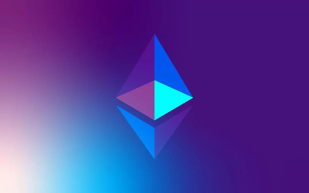 Logo de Ethereum.