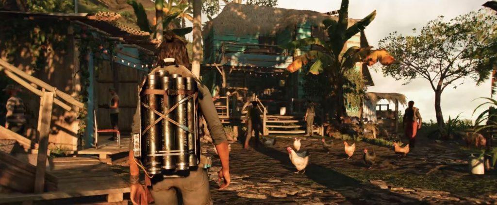 Tercera persona en Far Cry 6.