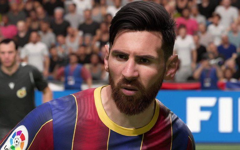 Messi en FIFA 21.