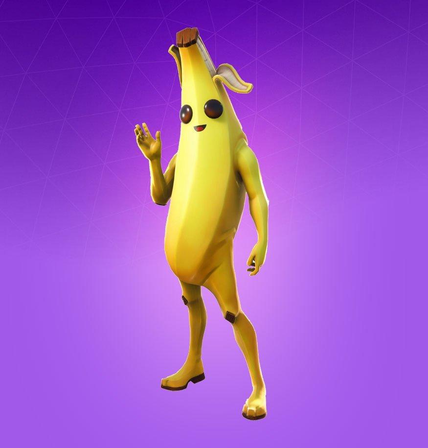 Skin de banana.