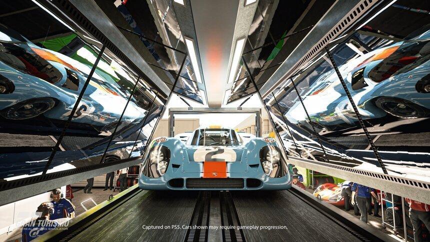 Gran Turismo 7.