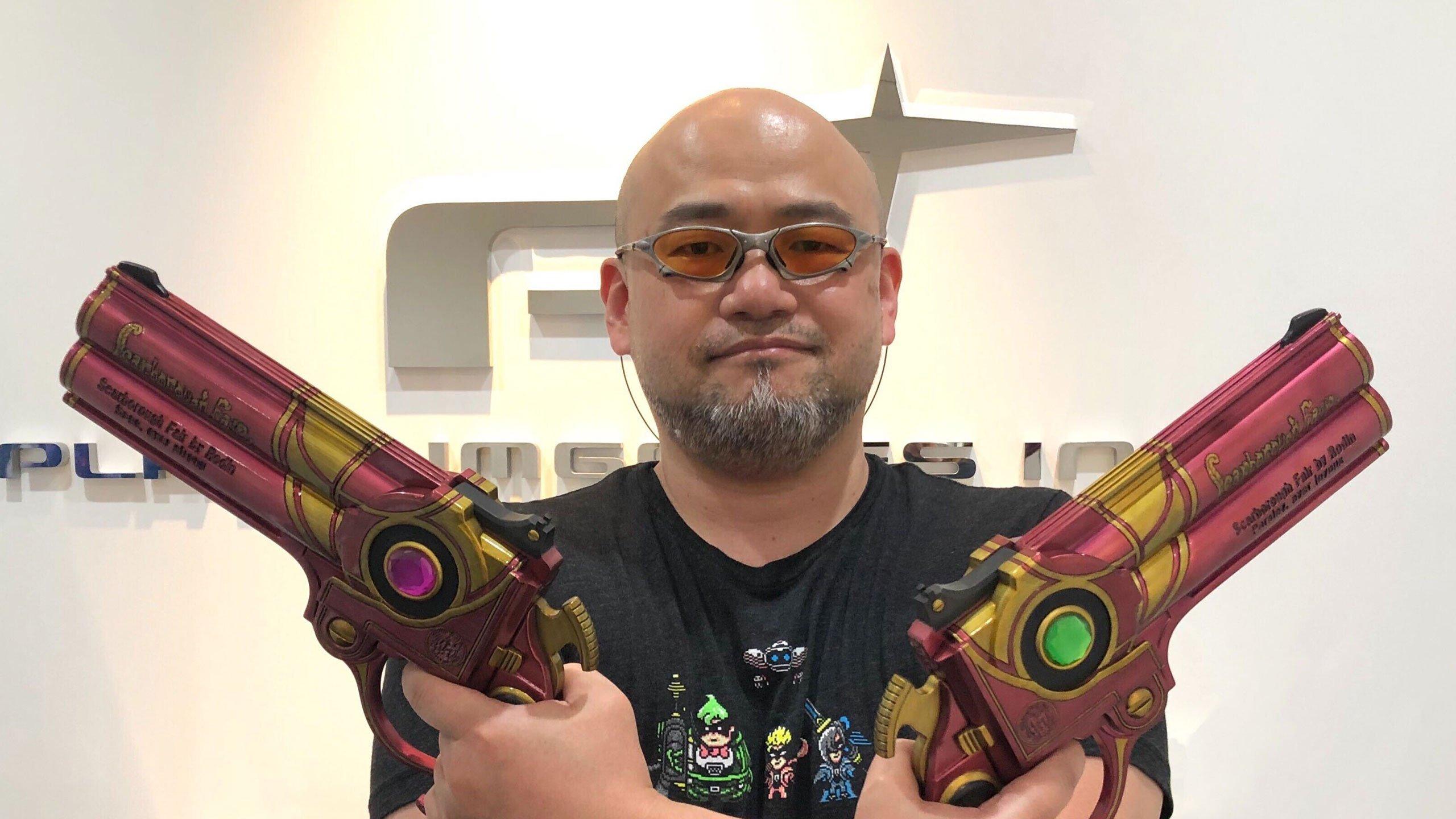 Hideki Kamiya.