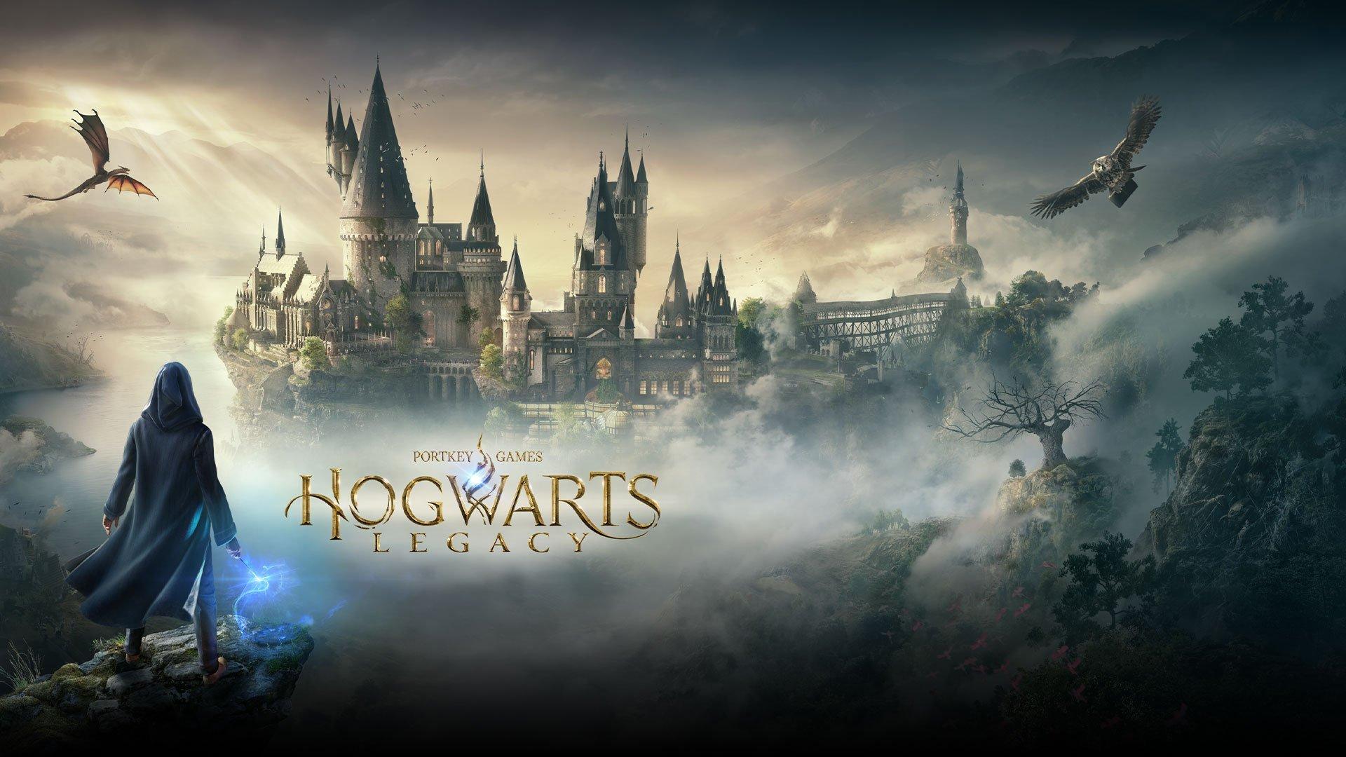 Arte de Hogwarts Legacy.
