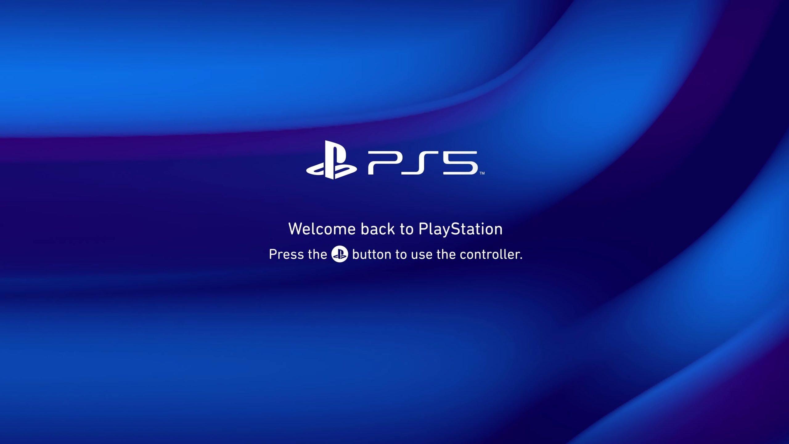 Interfaz de PS5.