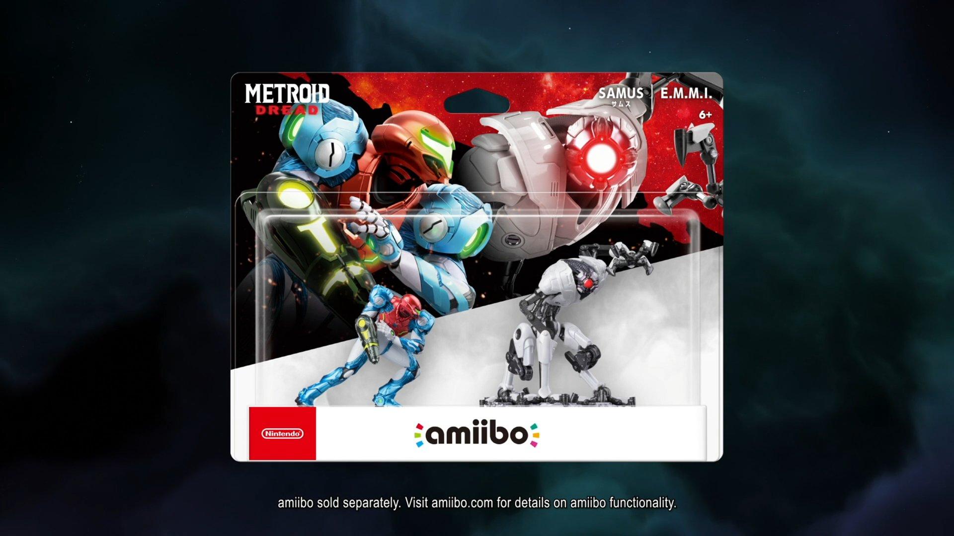 Amiibo de Metroid Dread.