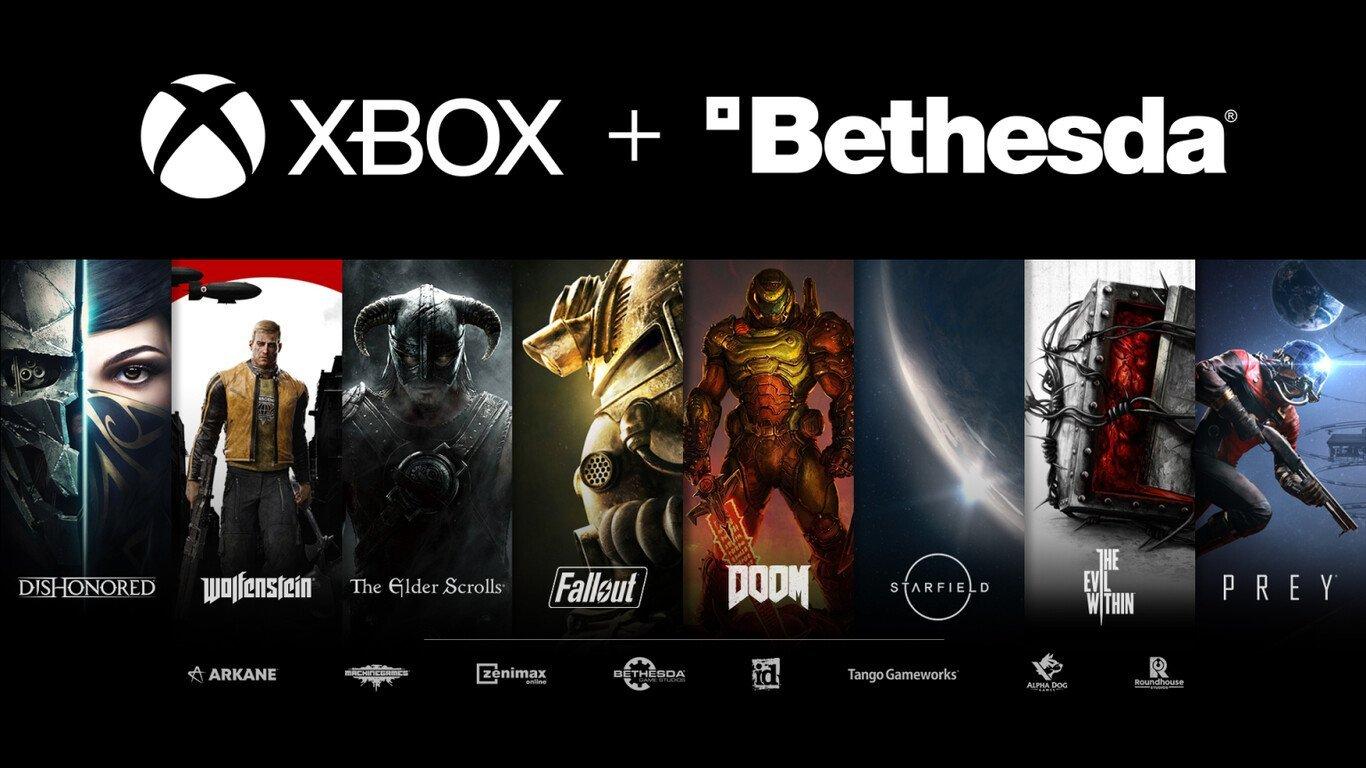 Bethesda y Microsoft.