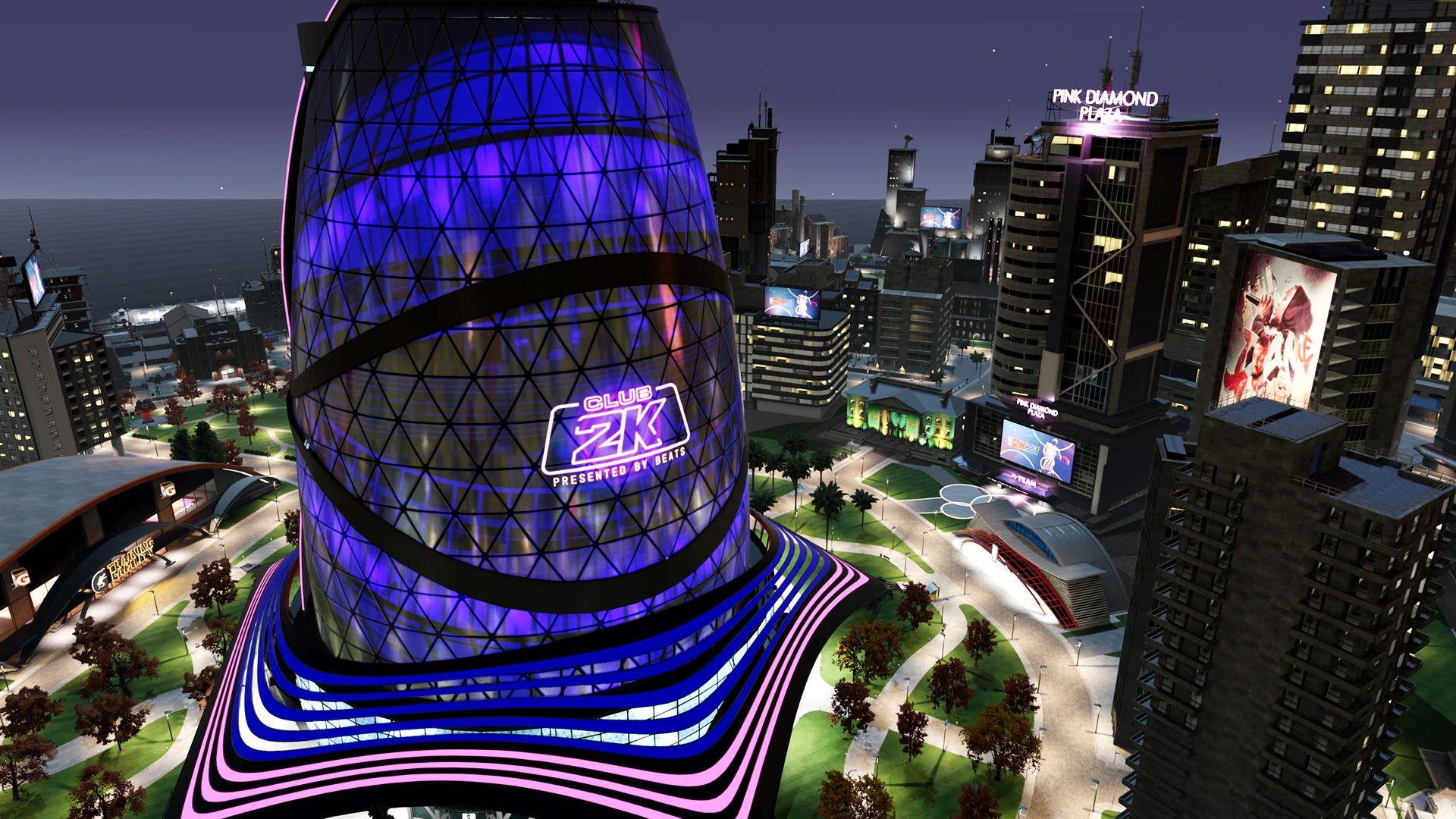 La ciudad en NBA 2K21.