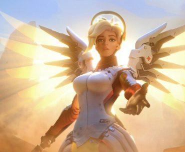 Mercy de Overwatch.