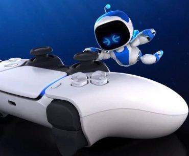 Astrobot con DualSense.