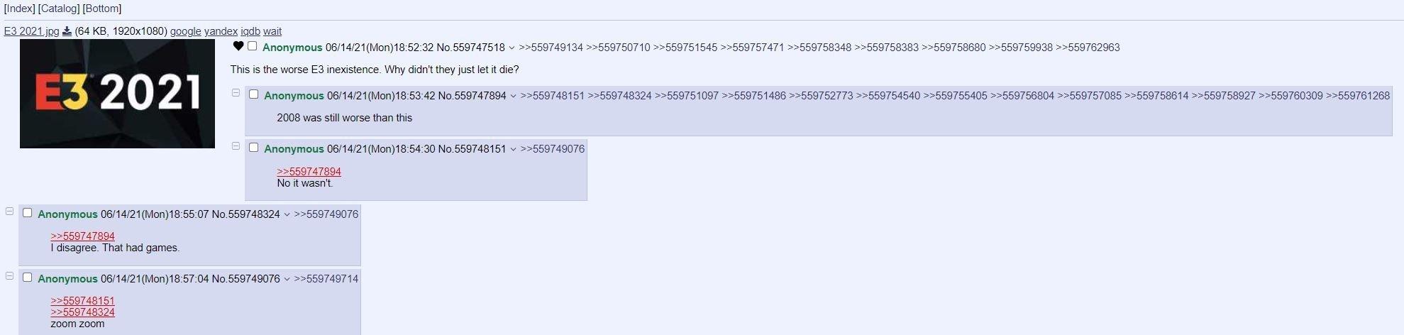 Reacciones en 4chan.